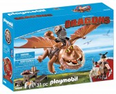 Playmobil DRAGONS – FISHLEGS SI MEATLUG