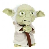 Jucarie plus soft Star Wars Yoda  - 44 cm