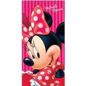 Prosop de baie Disney Minnie Mouse - Red
