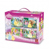 Puzzle 4 in 1 Princess (12,16,20,24 piese)