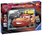 PUZZLE CARS, 2×24 PIESE