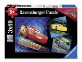 PUZZLE CARS, 3×49 PIESE