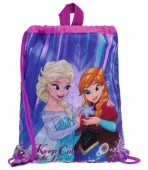 Sac sport gradinita 34 cm Disney Frozen Keep Calm