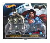 Set 2 masinute Batman Vs Superman 2016