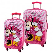 Set 2 Trolley Calatorie LUX Minnie si Daisy - Lovely Collection
