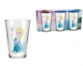 Set 3 pahare sticla Queen Elsa - Disney Frozen