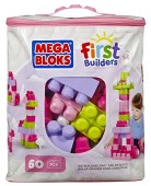 Set 60 piese Mega Bloks FIRST BUILDERS BUILDING BAG