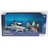 Set 7 figurine Animalute polare - National Geographic