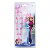 Set accesorii fashion Disney Frozen - Perie de par & Colier
