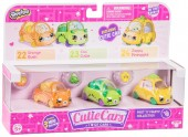 Set de 3 Mini Masinute Shopkins Cutie Cars Fast N Fruits