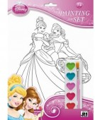 Set de colorat Premium A4 Disney Princess