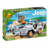 Set de construit Jeep Willys Paza de coasta - Cobi