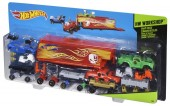 Set de creatie masinute Hot Wheels cu Camion transportator