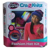 Set de Crosetat Ultimate Designer Cra-Z-Knitz Caciula