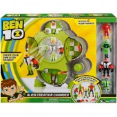 Set de joaca BEN 10 CAMERA CREARE EXTRATERESTRI (4 FIGURINE)