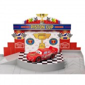 Set de joaca Disney Cars 3 Garaj - Piston Cup Racing Garage