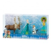 Set de joaca Disney Frozen Fever Deluxe-4 figurine