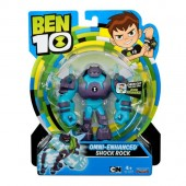 Set de joaca Figurina Ben 10 12cm Shock Rock Omni NEW 2019