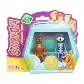 Set de joaca Scooby Doo &Skeleton Man - 2 figurine de 7 cm