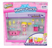 Set de joaca SHOPKINS HAPPY PLACES BATHING BUNNY