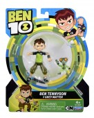 Set Figurine Ben 10 12cm Ben + Grey