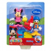 Set figurine Minnie si Donald- Mickey Club House