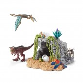 Set Figurine Schleich Set Dinozauri + Pestera