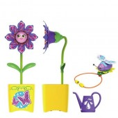 Set floare Magic Bloom si gandacel - ghiveci galben