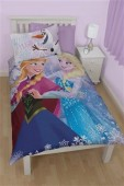 Set Lenjerie De Pat Disney Frozen Crystal Single Pane