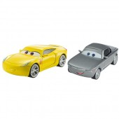 Set masinute Disney Cars 3 Sterling si Cruz Ramirez