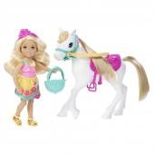 Set Pausa Barbie CHELSEA AND PONY