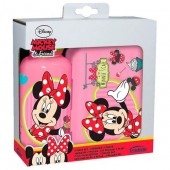 Set PREMIUM cutie sandwich si termos Disney Minnie Mouse