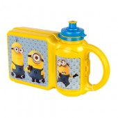 Set PREMIUM cutie sandwich si sticluta apa Despicable ME3