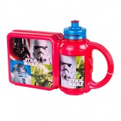 Set PREMIUM cutie sandwich si sticluta apa Star Wars