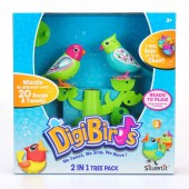 Set stand in forma de copac si doua pasari interactive DigiBirds