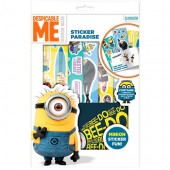 Set stickere MINIONS - colectia Despicable ME