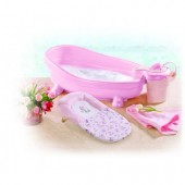Summer Infant-18275-Soothing Spa&Shower Pink