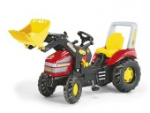 Tractor Cu Pedale Copii ROLLY TOYS Rosu