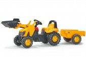 Tractor Cu Pedale Si Remorca Copii ROLLY TOYS