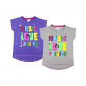 Tricou pentru copii Disney Violetta - Music Love Collection