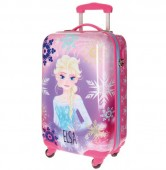 Troler ABS 55 cm 4 roti Disney Frozen Ice