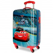 Troler pentru calatorie ABS 55 cm 4 roti Cars Racing Series