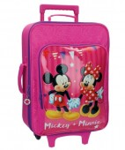 Troler pentru calatorie ABS 55 cm Disney Mickey Mouse & Minnie Party