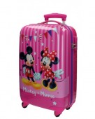 Troler pentru calatorie ABS 67 cm Disney Mickey Mouse & Minnie Party