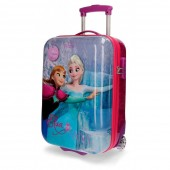 Troler pentru calatorie Disney Frozen Magic ABS 50cm 2 roti