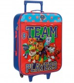 Troler textil calatorie copii 50 cm 2 roti Team Players