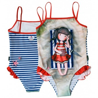 Costum baie intreg Gorjuss-Summer Days