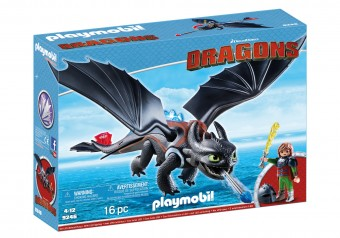Playmobil - Hiccup si toothless