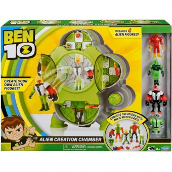 Set de joaca BEN 10 camera de creare extraterestii (4 figurine)