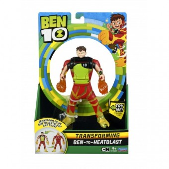 Set de joaca Ben 10 figurina transformabila - Heatblast